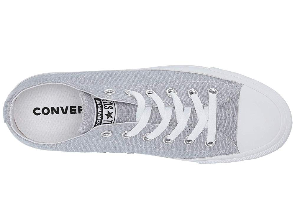 Hot Sale Converse Chuck Taylor® All Star® Court Fade Ox Wolf Grey/White/White