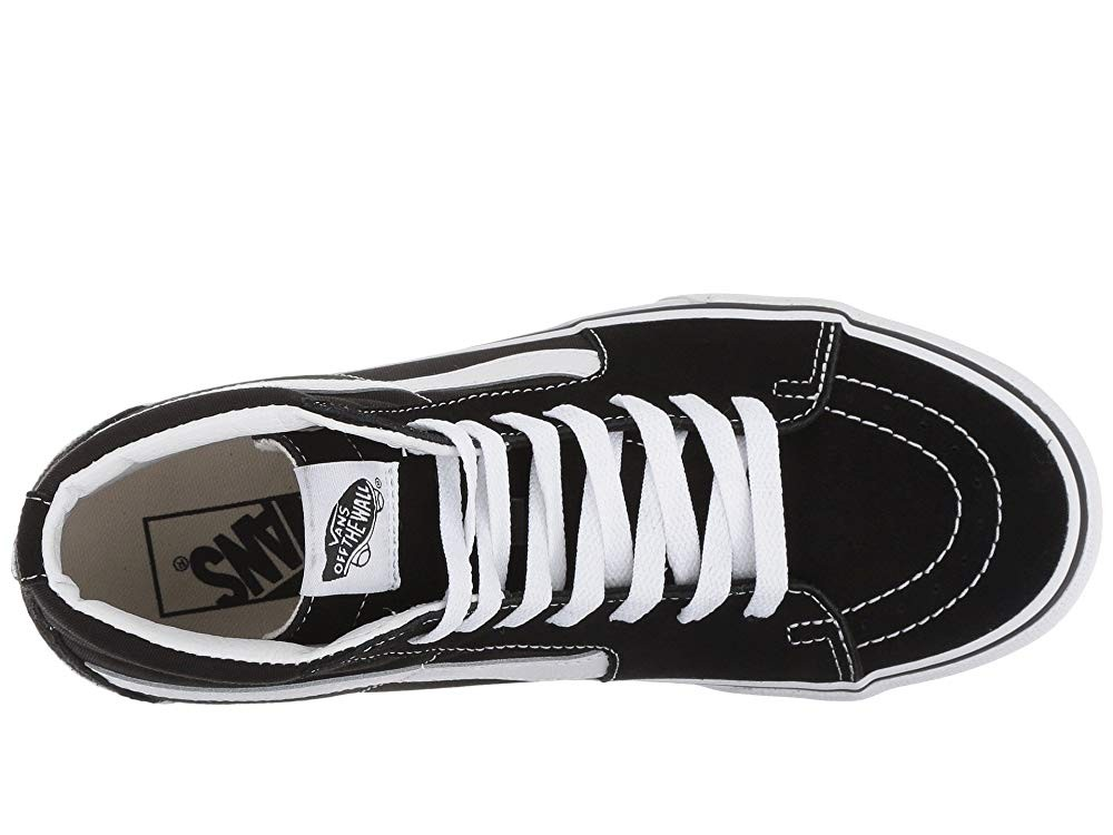 [ Hot Deals ] Vans SK8-Hi Platform 2.0 Black/True White
