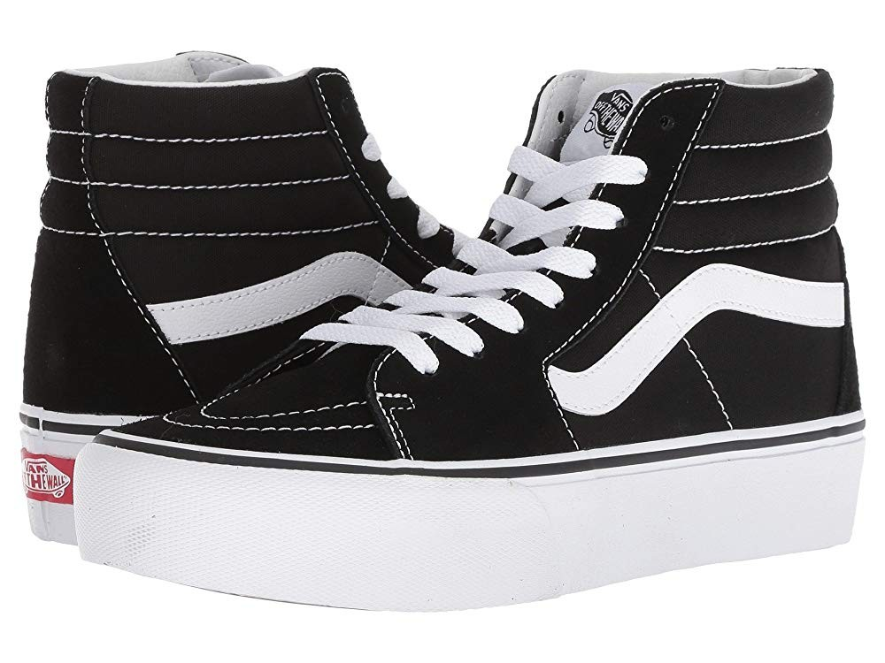 Vans SK8-Hi Platform 2.0 Black/True White