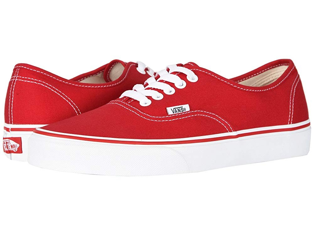 [ Hot Deals ] Vans Authentic™ Core Classics Red
