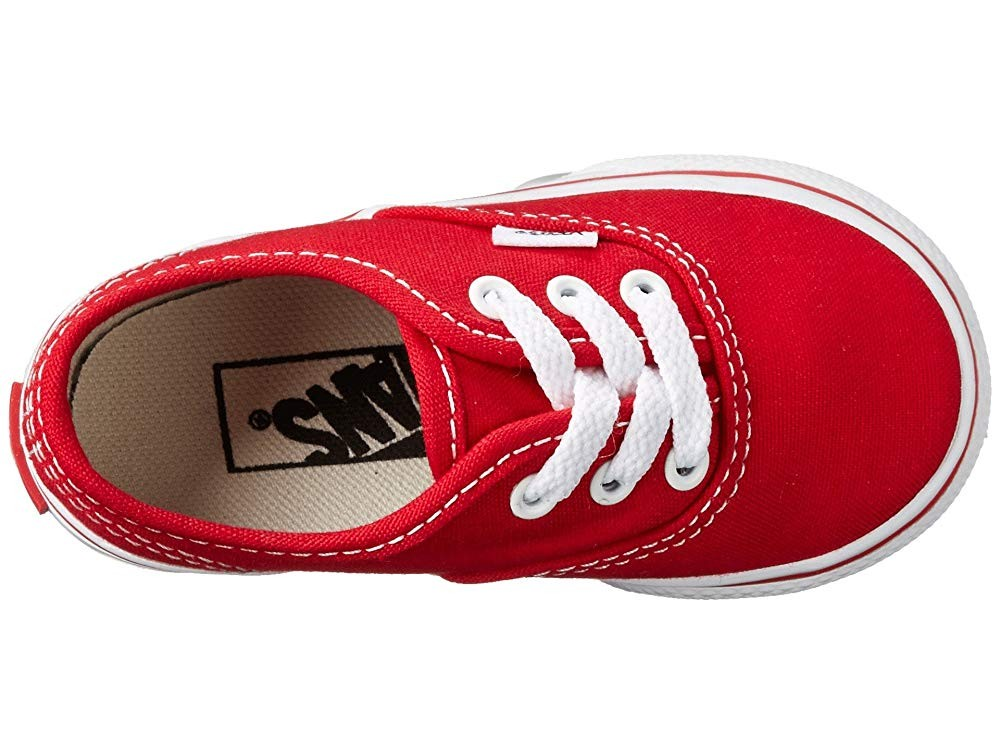 Vans Kids Authentic Core (Toddler) Red