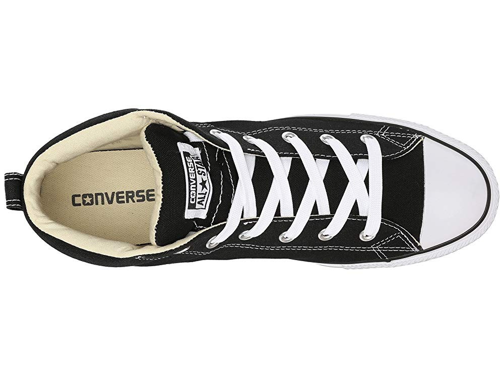 Black Friday Converse Chuck Taylor® All Star® Street Core Canvas Mid Black/Natural/White Sale