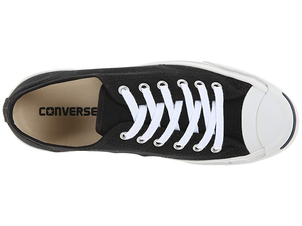 Black Friday Converse Jack Purcell® CP Canvas Low Top Black/White Sale