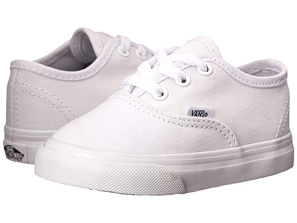Vans Kids Authentic Core (Toddler) True White Black Friday Sale