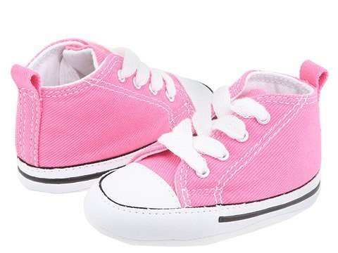 [ Hot Deals ] Converse Kids Chuck Taylor® First Star Core Crib (Infant/Toddler) Pink