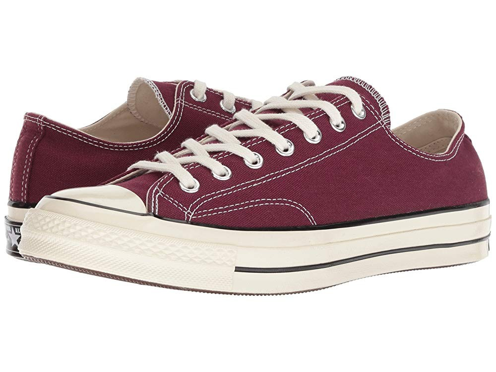 Black Friday Converse Chuck Taylor® All Star® '70 Ox Dark Burgundy/Black/Egret Sale