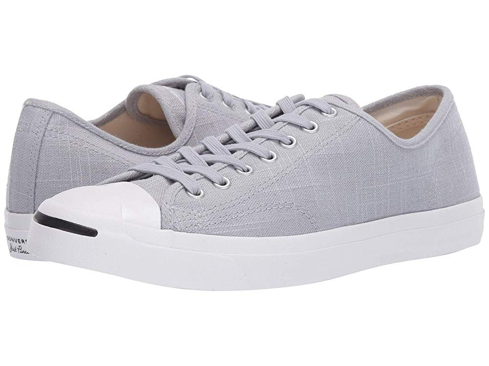 [ Hot Deals ] Converse Jack Purcell Jack Wolf Grey/Wolf Grey/White
