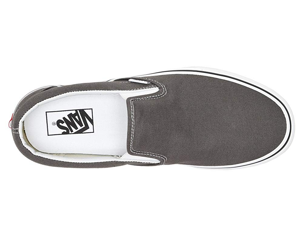 [ Hot Deals ] Vans Classic Slip-On™ Core Classics Charcoal (Canvas)