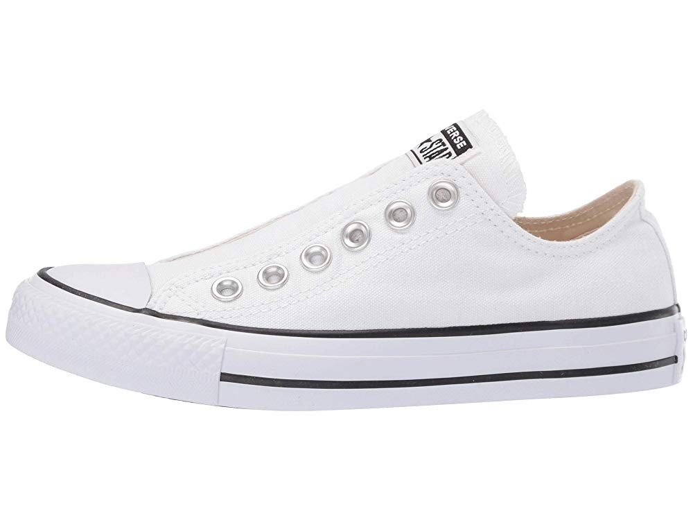 Hot Sale Converse Chuck Taylor All Star Slip-On White/Black/White