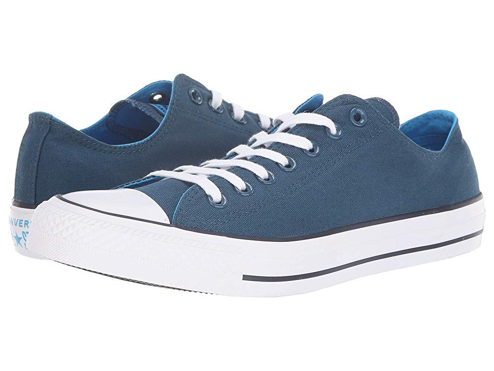 [ Hot Deals ] Converse Chuck Taylor All Star Seasonal Ox Blue Fir/Blue Hero/Inked