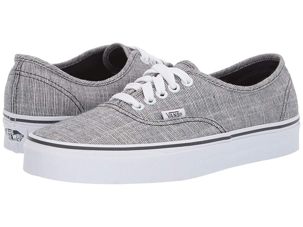 [ Hot Deals ] Vans Authentic™ (Chambray) Ebony/True White