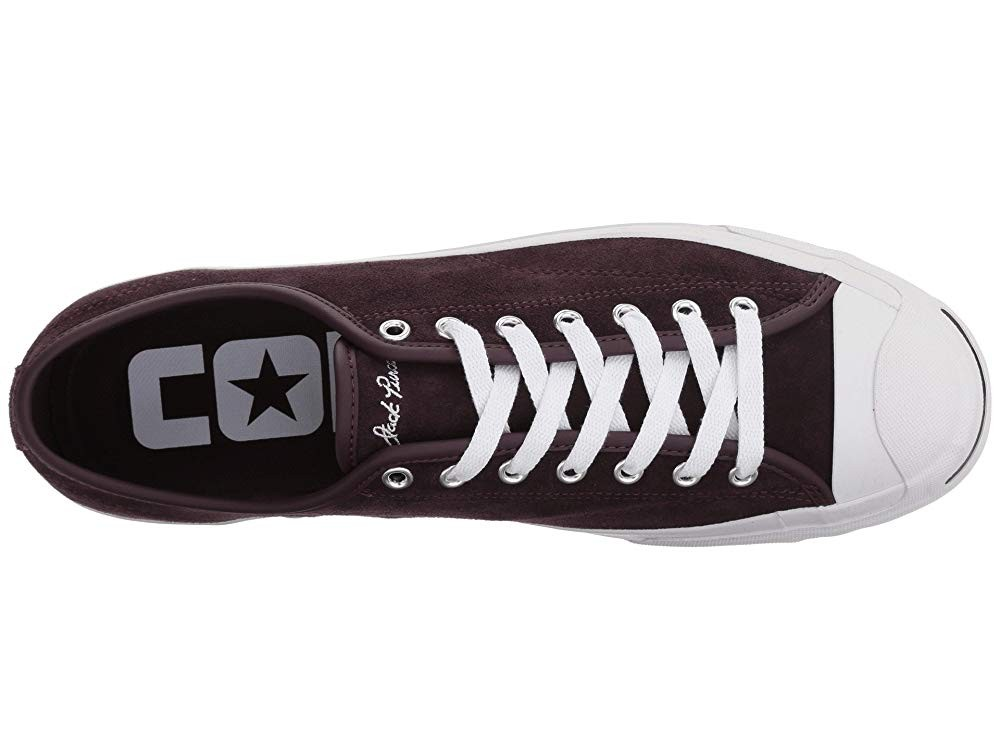 [ Hot Deals ] Converse Skate One Star Pro Ox Black Cherry/White/White