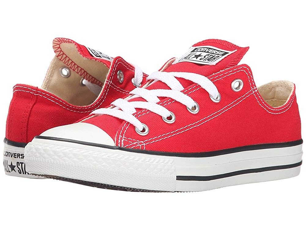 [ Hot Deals ] Converse Kids Chuck Taylor® All Star® Core Ox (Little Kid) Red