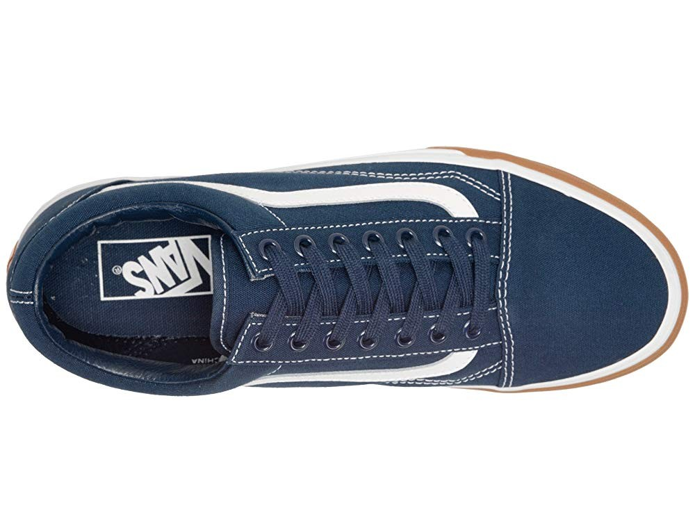 Christmas Deals 2019 - Vans Old Skool™ (Gum Bumper) Dress Blues/True White