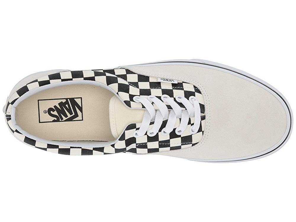 [ Hot Deals ] Vans Era™ (Primary Check) Marshmallow/Black