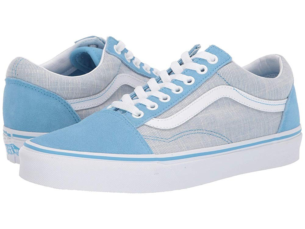 [ Black Friday 2019 ] Vans Old Skool™ (Chambray) Alaskan Blue/True White