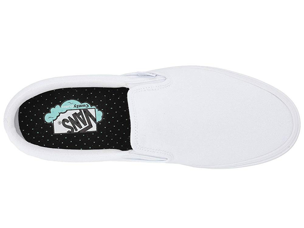 Vans ComfyCush Slip-On (Classic)True White/True White Black Friday Sale