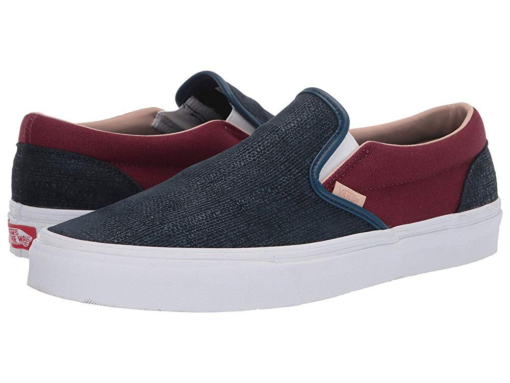 Buy Vans Classic Slip-On™ (Textured Suede) Sailor Blue/Port