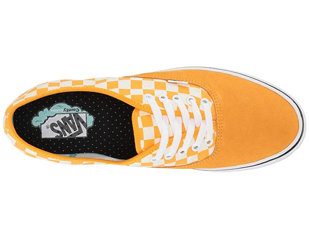 Vans ComfyCush Authentic (Checker) Zinnia/True White Black Friday Sale