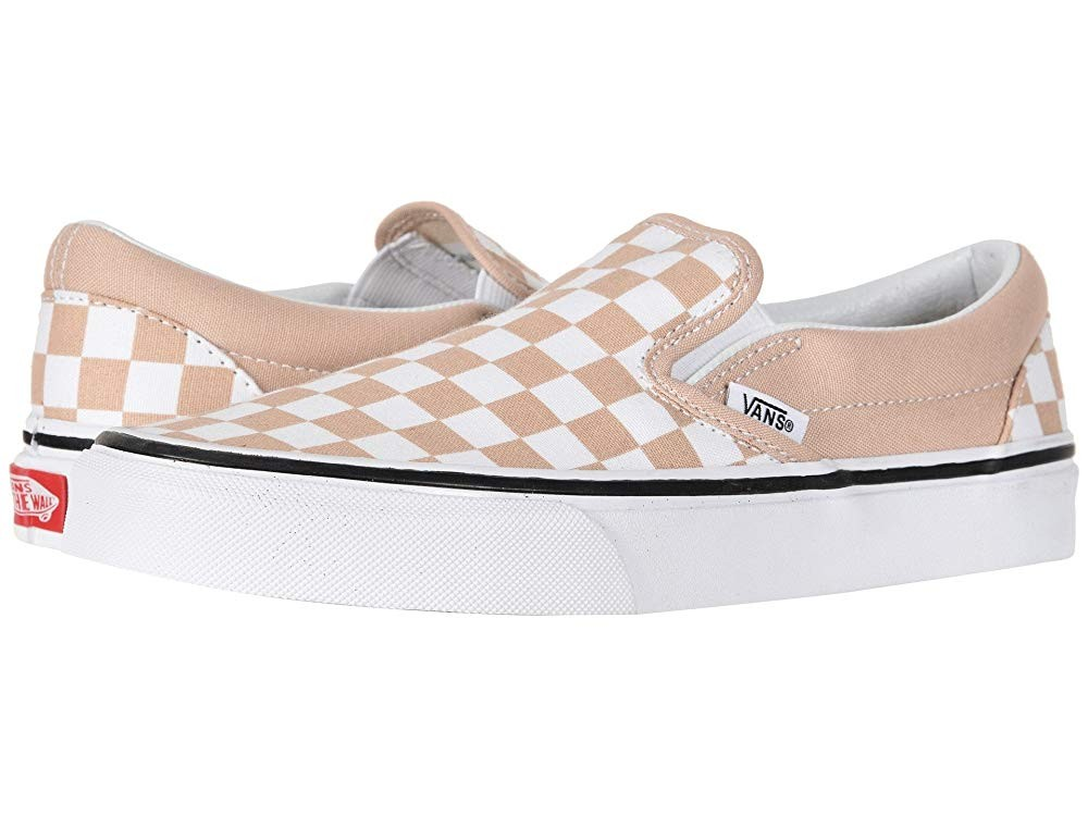 Christmas Deals 2019 - Vans Classic Slip-On™ (Checkerboard) Frappe/True White
