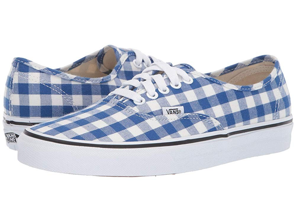 camuflaje coro Barricada  Vans Authentic™ (Gingham) True Blue/True White