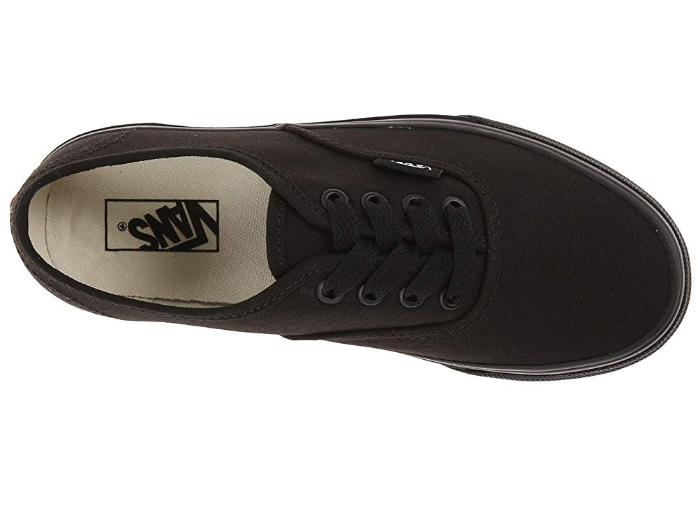 Vans Kids Authentic (Little Kid/Big Kid) Black/Black Black Friday Sale