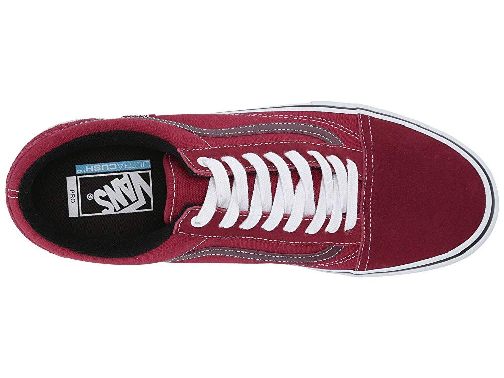 Vans Old Skool Pro Rumba Red/True White Black Friday Sale