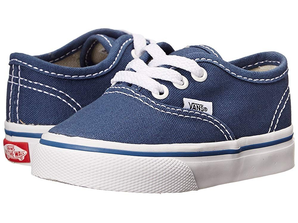 [ Black Friday 2019 ] Vans Kids Authentic Core (Toddler) Navy