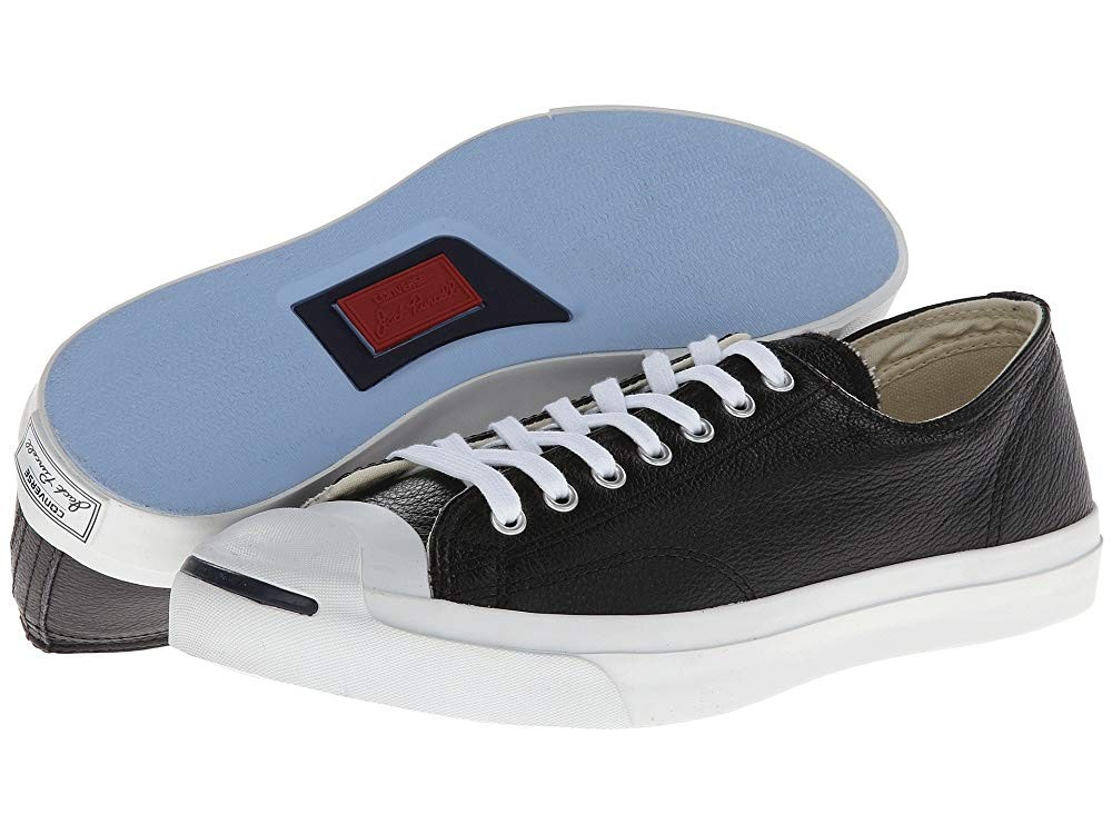 Black Friday Converse Jack Purcell® Leather Black/White Sale