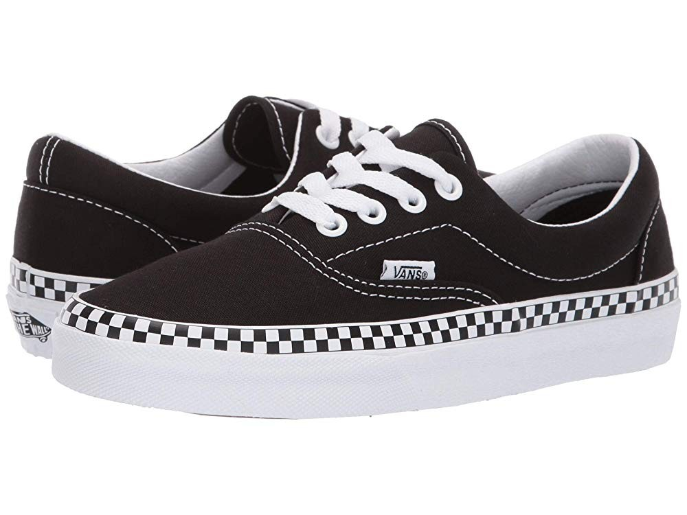 Vans Era™ (Check Foxing) Black/True White Black Friday Sale