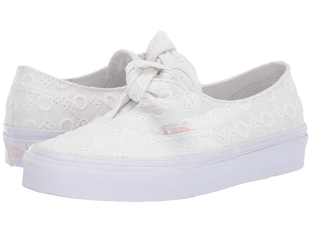 Vans Authentic Knotted (Cotton Lace) True White/True White