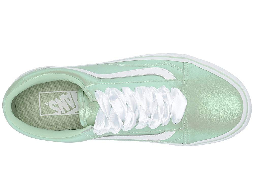 [ Black Friday 2019 ] Vans Old Skool™ (Pearl Suede) Pastel Green/True White