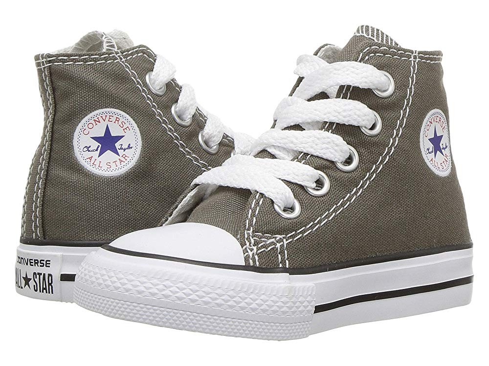 Converse Kids Chuck Taylor® All Star® Core Hi (Infant/Toddler) Charcoal