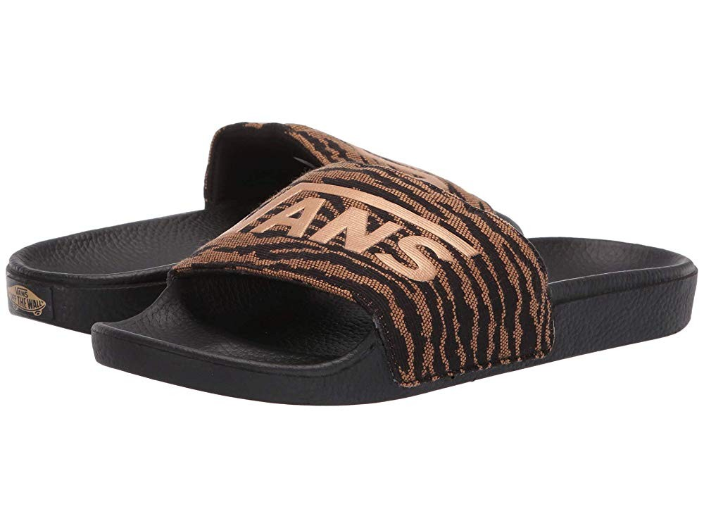 Christmas Deals 2019 - Vans Slide-On (Woven Tiger) Black