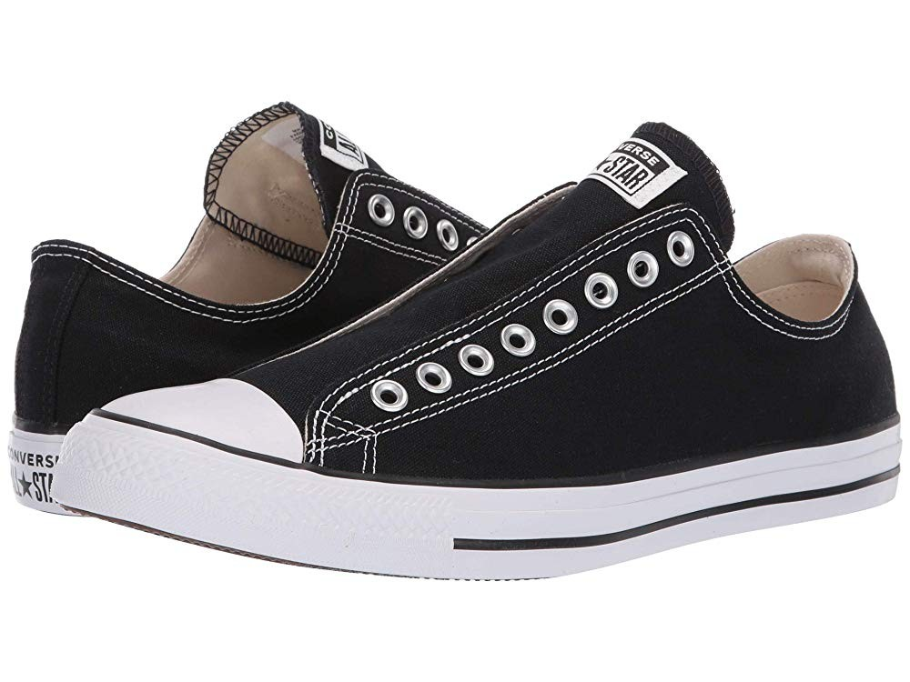 Black Friday Converse Chuck Taylor All Star Slip-On Black/White/Black Sale