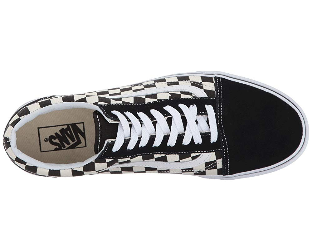 Vans Old Skool™ (Primary Check) Black/White Black Friday Sale