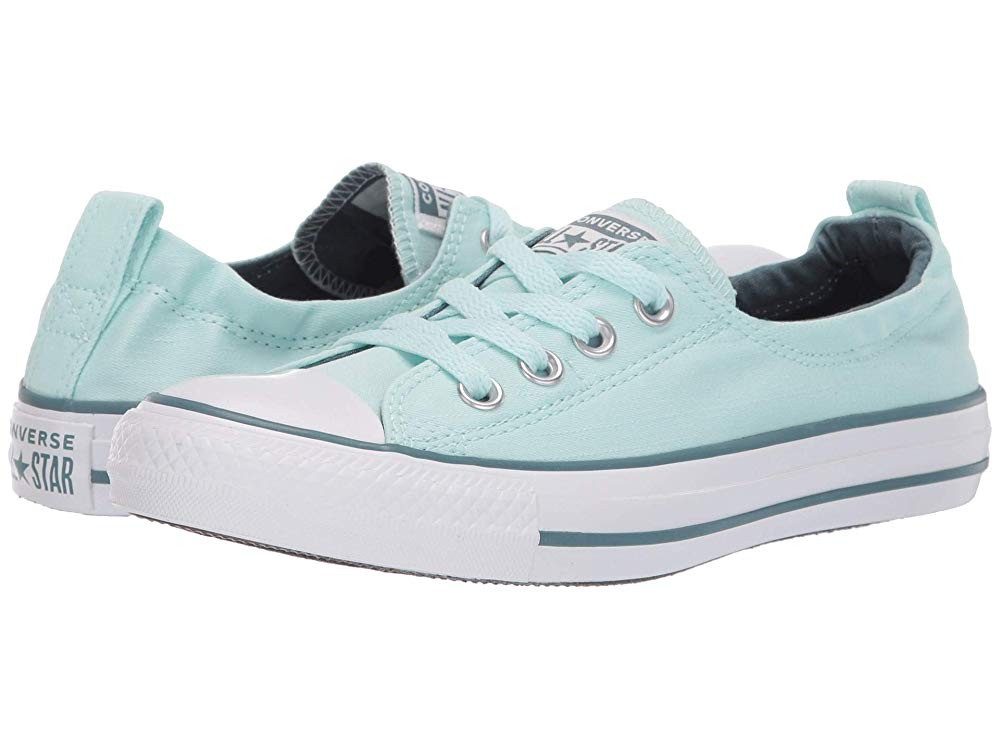 [ Hot Deals ] Converse Chuck Taylor® All Star® Shoreline Slip-On Teal Tint/Celestial Teal/White