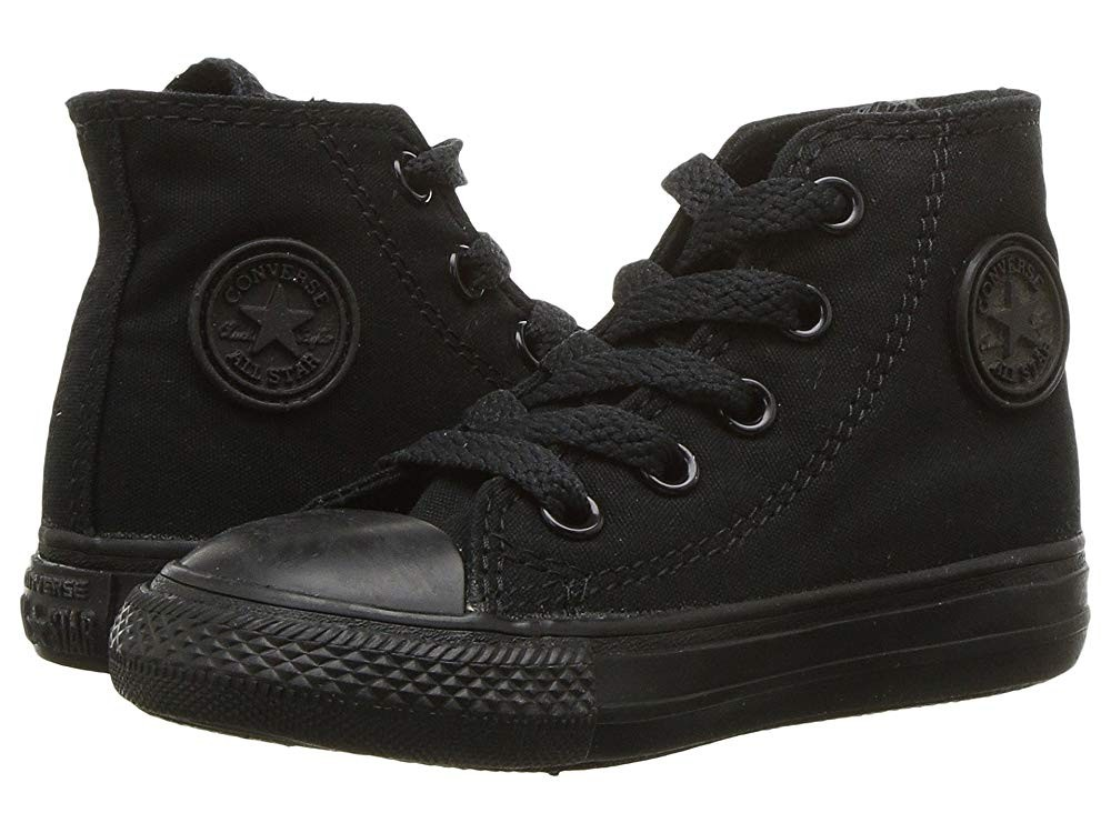 Black Friday Converse Kids Chuck Taylor® All Star® Core Hi (Infant/Toddler) Black/Monochrome Sale