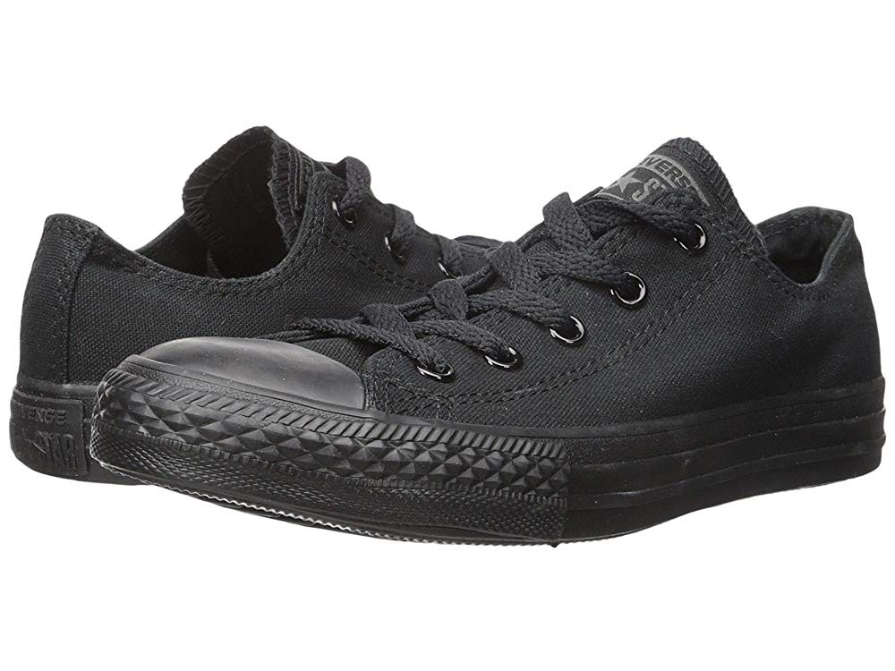[ Black Friday 2019 ] Converse Kids Chuck Taylor® All Star® Core Ox (Infant/Toddler) Monochrome Black