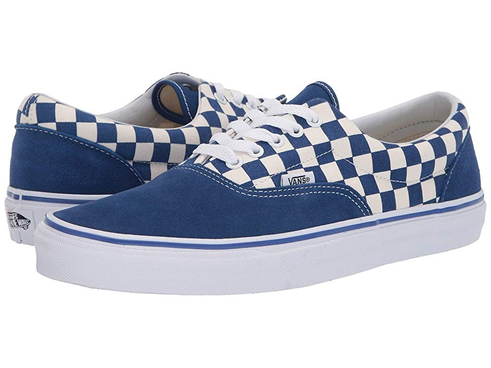 [ Hot Deals ] Vans Era™ (Primary Check) True Blue/White