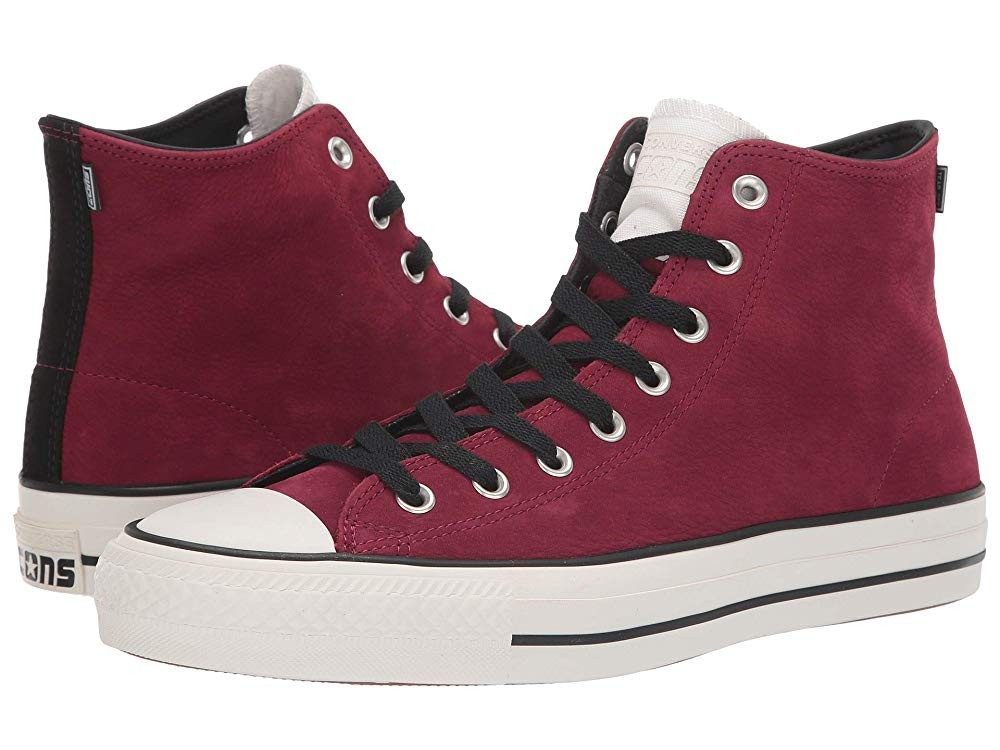 Black Friday Converse Skate Chuck Taylor All Star Pro - Hi Pomegranate Red/Black/Egret Sale