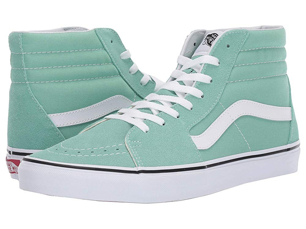 Vans SK8-Hi™ Neptune Green/True White Black Friday Sale