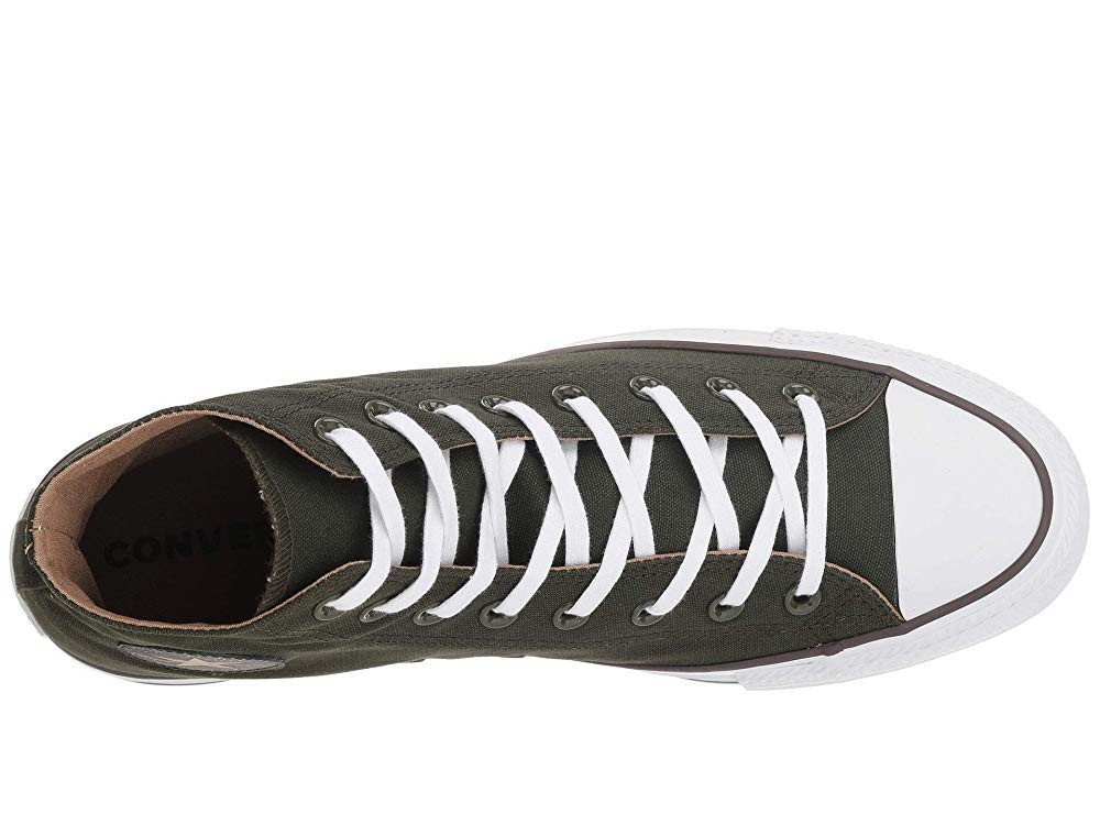 Converse Chuck Taylor® All Star® Seasonal Color Hi Utility Green/Teak/White