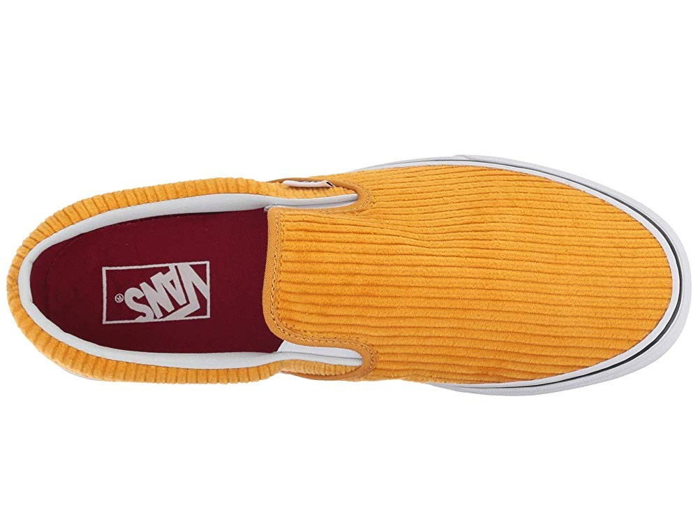 [ Black Friday 2019 ] Vans Classic Slip-On (Design Assembly) Sunflower/True White