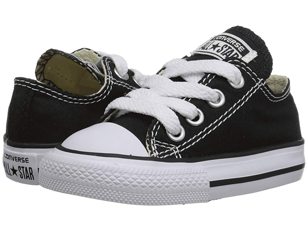 Converse Kids Chuck Taylor® All Star® Core Ox (Infant/Toddler) Classic Black