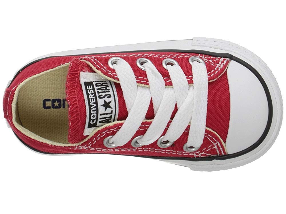 [ Black Friday 2019 ] Converse Kids Chuck Taylor® All Star® Core Ox (Infant/Toddler) Red