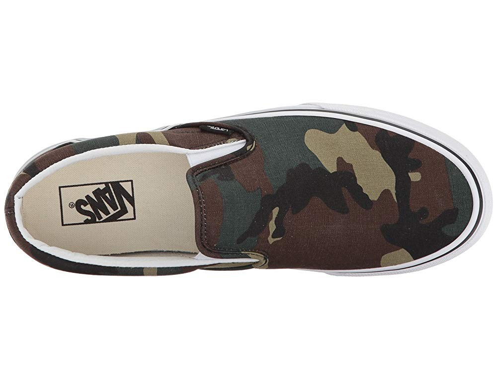 [ Hot Deals ] Vans Classic Slip-On™ (Woodland Camo) Black/Woodland