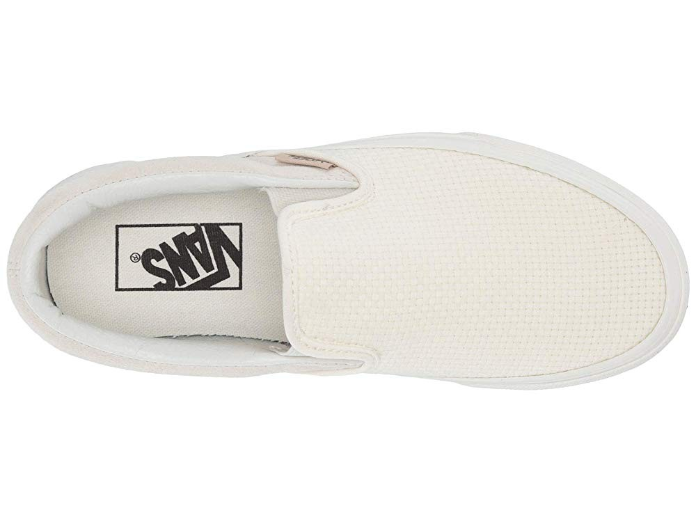 Buy Vans Classic Slip-On™ (Woven Check) Marhmallow/Snow White