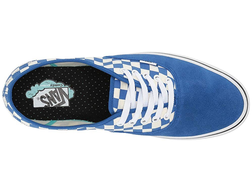 Buy Vans ComfyCush Authentic (Checker) Lapis Blue/True White